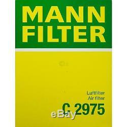 10l Mannol 5w-30 Break LI + Mann-filter Jeep Grand Cherokee 3.0 Crd III Wh