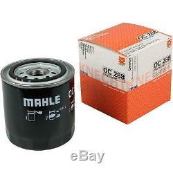 10x Original Mahle / Knecht Filter Oc Oil 288 + 10x Sct Engine Flush Flushing