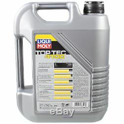 12 Liqui Moly 5w-40 Motor Oil-filter + Sct Jeep Grand Cherokee 3.0 Crd III Wh