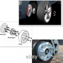 2pc 50mm 5x127 Way Spacers 71.5 MM For Jeep Wrangler Jk Grand Cherokee