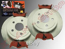 2x Brake Discs & Pads Rear Jeep Grand Cherokee From 2005 To 2010 Wh