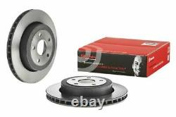 2x Brembo Hinten Brake Disc For Jeep Grand Cherokee III Wh, Wk