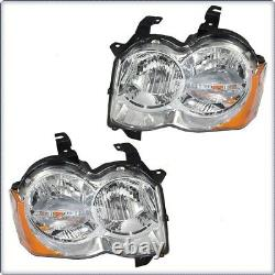 2x Lighthouses Lighthouse For Jeep Grand Cherokee 2008 2010 Hb3 Hb4