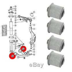 4 Bushings For 2 Arms Before, Jeep Grand Cherokee, Liberty, Dodge Nitro