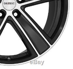 4 Wheels Dezent Th Dark 7.5jx17 5x127 For Jeep Commander Grand Cherokee Wrangle