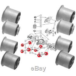 8 Silentblocks For 4 Rear Arms, For Jeep Grand Cherokee Iii, Commander