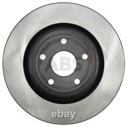 A. B. S. 2x Ventilated Brake Discs Covered 18088