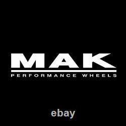 Alloy Wheels 7.5x17 5x127 Et44 Mak Liberty Jeep Grand Cherokee Gloss Black 9de