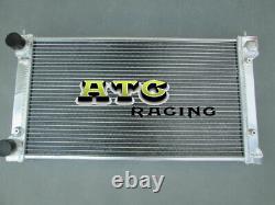 Aluminium Radiator Vw Golf Mk1 Mk2 Gti / Scirocco 1.6 1.8 8v Manual