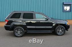 Aluminum Black Side Running Boards For Jeep Grand Cherokee 05-11