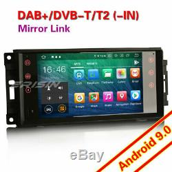 Android 9.0 Dab + Radio For Jeep Patriot Compass Liberty Dodge Chrysler Aspen