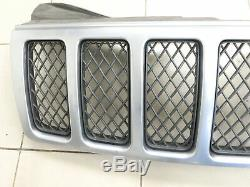 Av Grid Grill Grill Cooler For Jeep Grand Cherokee III Wh 05-10