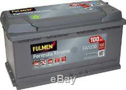 Battery Fulmen Formula Xtreme 100ah / 900a (fa1000)