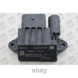 Borgwarner (beru) Control Apparatus, Preheating Time For Chrysler
