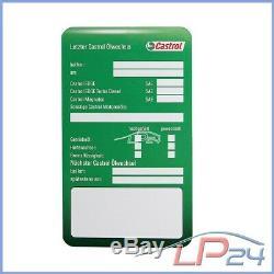 Bosch Filter + 10 L Castrol Edge Fst 0w-30 Jeep Grand Cherokee 3.0 Crd 3 05-10