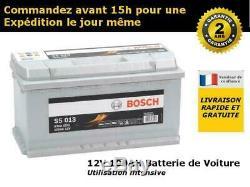 Bosch S5013 Starting Car Battery 12v 100ah 353x175x190mm
