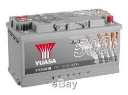 Car Battery, Yuasa Car Ybx5019 12v 100ah 900a 353x175x190mm H3 G3