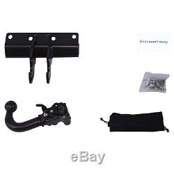 Chrysler Grand Cherokee Hitch 2006-2010 Removable + Beam 7 Pins Top