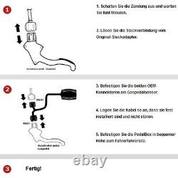 Dte Pedal Box Plus With Appsteuerung For Jeep Grand Cherokee III Wh Wk