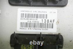 Engine Control Module Jeep Grand Cherokee 3 Wh Wk P04692138af Diesel 01643