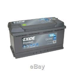 Exide Premium Ea1000 12v 100ah 900a Battery
