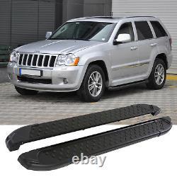 Footsteps Jeep Grand Cherokee Tüv & Abe Year Fab. 2004-2011 Alu Rails Au Sol