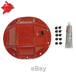 Heavy Duty Differential Cover Chrysler 8.25 Rear Jeep Grand Cherokee Wk / Wh