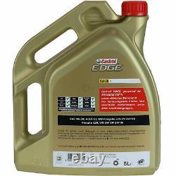 Inspection Sketch Filter Castrol 10l Oil 5w30 For Jeep Format Xk 3.0 Crd