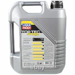 Inspection Sketch Filter Liqui Moly Oil 10l 5w-40 From Mercedes-benz