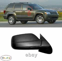 Jeep Grand Cherokee 2004 2010 Nine Electric Rearview Mirror Right O/s Driver Lhd