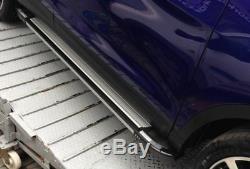 Jeep Grand Cherokee 2005-2010 Aluminum Footboats Footstools