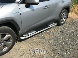 Jeep Grand Cherokee 2005-2010 Steps Aluminum On Foot
