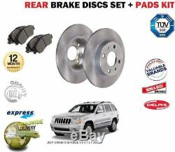Jeep Grand Cherokee 3.0 4.7 5.7 2005- Rear Disc Brake Kit +
