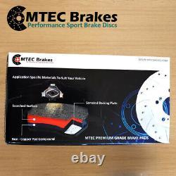 Jeep Grand Cherokee 3.0 Crd 05-10 Brake Front Discs & Mtec Premium Pads