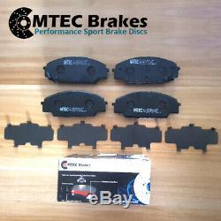 Jeep Grand Cherokee 3.0 Crd 05-10 Front Brake Discs & Pads Premium Mtec