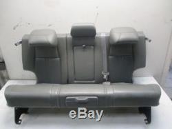 Jeep Grand Cherokee III (wh) 3.0 Crd Gray Leather Rear Seat