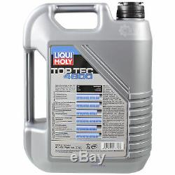 Liqui Moly 7l Toptec 4600 5w-40 Oil For Mann Jeep Grand Cherokee III Wh