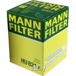 Mannol 10 L Energy Premium 5w-30 + Mann-filter Mercedes-benz C209 Clk 320 CDI