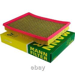 Mannol 10l Nano Tech 10w-40 Engine Oil + Mann-filter For Jeep Grand