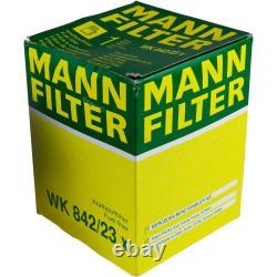 Mannol 8l Nano Tech 10w-40 Engine Oil + Mann-filter For Jeep Grand Cherokee