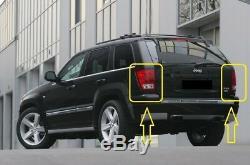New Jeep Grand Cherokee Pair Rear Lights Fire Signal D Stop Left +