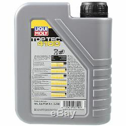Review Filter Liqui Moly Oil 5w-40 6l For Jeep Grand Cherokee Wh III Wk