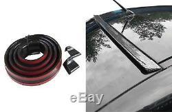 Roof Spoiler Rear Spoiler Cover Lip Gloss Black For Several