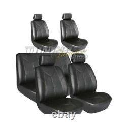 Seat Covers Car Covers Van Bus 4x - Leather Mock Bank