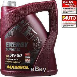 Set Inspection Combi 10 L Mannol Energy 5w-30 LI + Mann Filter 10973749