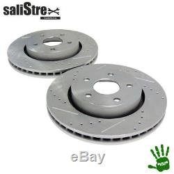 Set Of Brake Disc, Drilled And Melted, Front Jeep Commander Xk / Xh 06/10