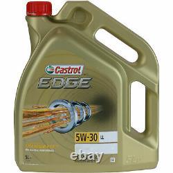 Sketch Inspection Filter Castrol 10l Oil 5w30 For Jeep Format Xk 3.0 Crd
