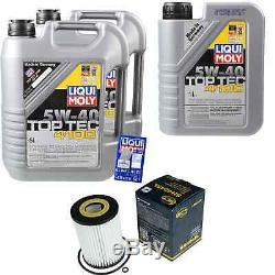 Sketch On Inspection Filter Liqui Moly Oil 11l 5w-40 Mercedes-benz