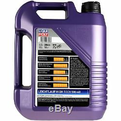 Sketch On Inspection Filter Liqui Moly Oil 13l 5w-40 Mercedes-benz E-class