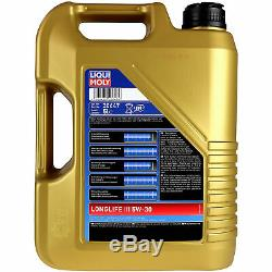 Sketch On Inspection Filter Liqui Moly Oil 5w-30 10l Jeep Cherokee III Wh
